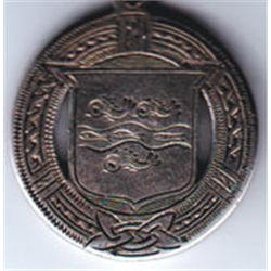 1939 G.A.A. Wexford Minor Football Championship medal won by Volunteers