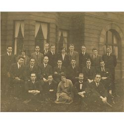 1920s: Irish rugby teams group photographs