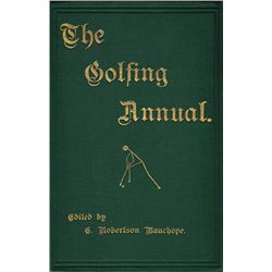 Golf. 1887-8 The Golfing Annual Volume 1
