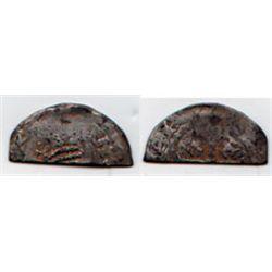 England. Henry II (1154-1189) cut 'Tealby' halfpenny