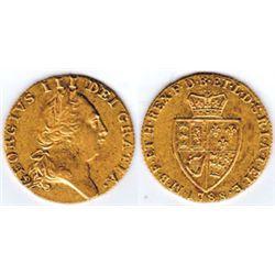 England. 1788 George III (1760-1820) gold guinea 1788
