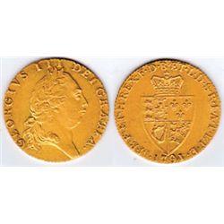England. 1788 George III (1760-1820) gold guinea 1791