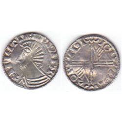 Hiberno Norse silver penny Phase III, circa 1035-1055AD