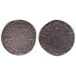Henry VIII (1509-1547) Fourth Harp Issue silver groat.