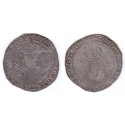 Philip and Mary (1554-1558) Irish silver groat