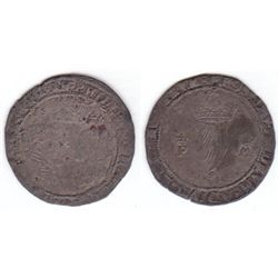 Philip and Mary (1554-1558) silver groat 1556.