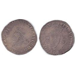 Elizabeth I (1558-1603) First issue billon shilling