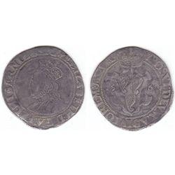 Elizabeth I (1558-1603) Second Issue fine silver shilling