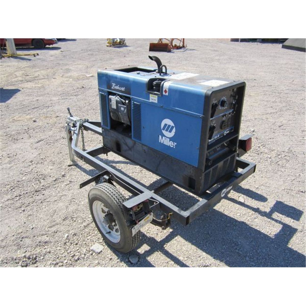 Miller Bobcat 225 Towable Welder/Generator