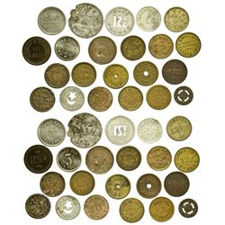 AZ - Bisbee,Cochise County - Bisbee Grab Bag of Tokens