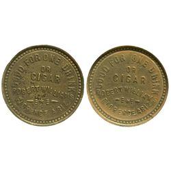 AZ - Florence,Pinal County - 1893-1897 - Florence AZ Token