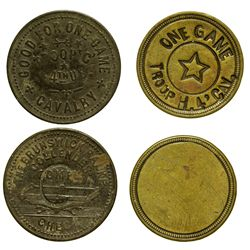 AZ - Fort Bowie,Cochise County - Military Tokens