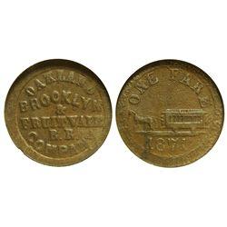 CA - Oakland ,Alameda County - c1915 - Brooklyn & Fruitvale RR