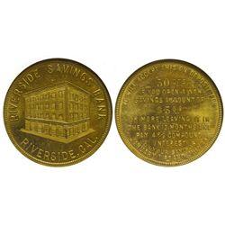 CA - Riverside,Riverside County - c1900-1920 - Riverside Savings Bank