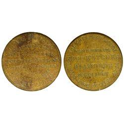 CA - San Francisco,1850 - Joseph Brothers Store Card Token