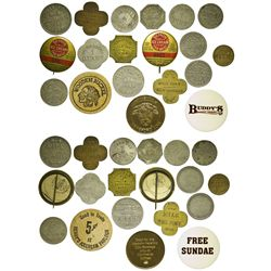 CT - Connecticut Dairy Tokens