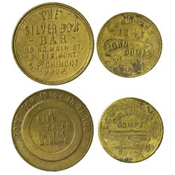 MT - Butte,Silver Bow County - Butte Tokens