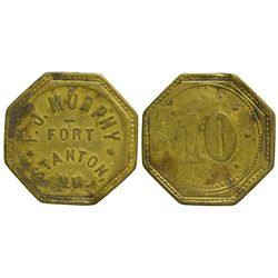 NM - Fort Stanton,Lincoln County - F.J. Murphy Token