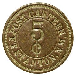 NM - Ft. Stanton,Lincoln County - Post Canteen Token