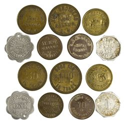 NM - Gallup,McKinley County - Gallup Merchant Tokens