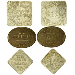 NM - Gallup,McKinley County - Gallup Trade Tokens