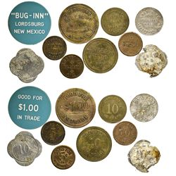NM - Lordsburg,Hidalgo County - Lordsburg Token Collection