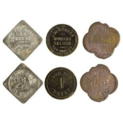 NM - Lordsburg,Hidalgo County - Lordsburg Token Trio