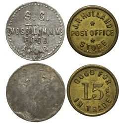 NM - Mongollon,Catron County - Mogollon Tokens