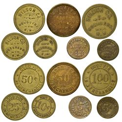 NM - Mosquero,Harding County - Mosquero Tokens