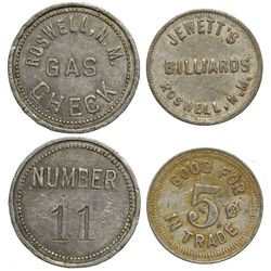 NM - Roswell,Chaves County - Roswell Tokens