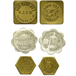 NM - Roswell,Chaves County - W.A.F.B. Tokens
