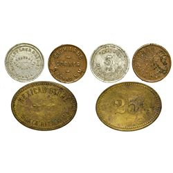 NM - S Towns,New Mexico Tokens