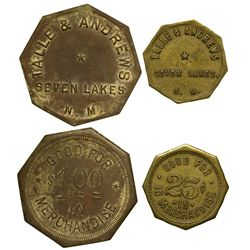 NM - Seven Lakes,McKinley County - Seven Lakes Tokens