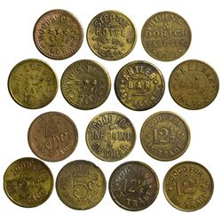 NV - Ely,White Pine County - Ely Trade Tokens
