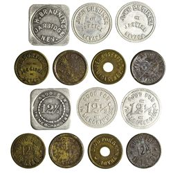 NV - Jarbidge,Elko County - c1910 - Elko County Tokens