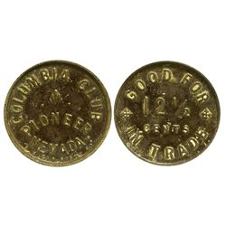 NV - Pioneer,c1909 - Columbia Club Token