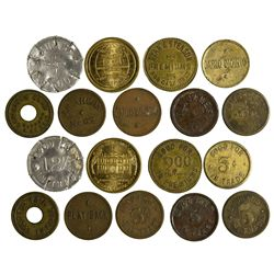 NV - Virginia City,Storey County - 1880 to 1940 - Virginia City Tokens