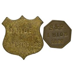 OK - Ft. Sill,Comanche County - 1892 - Fort Sill Tokens *Indian Territory*