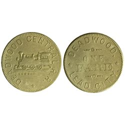 SD - Deadwood,Lawrence County - Railroad Tokens