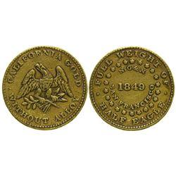 CA - San Francisco,1849 - Norris, Greg Norris Five Dollar Gold Coin