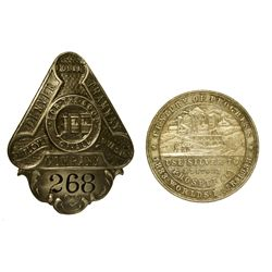 CO - 1930 - Century of Progress So-Called Dollar & Tramway Co. Badge