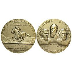 CA - San Francisco,1960 - Pony Express Founders Medal