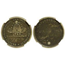 UT - Salt Lake City,1894 - Desert Agricultural and Manufacturing Society Medal