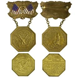 CA - San Francisco,1911, 1976 - Slug Facsimile & Bicentennial Medal