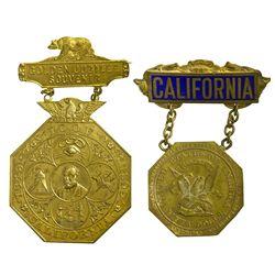 CA - San Francisco,1899, 1916 - Slug Facsimiles