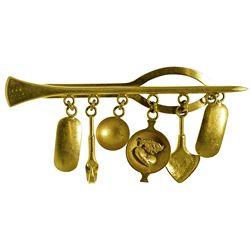 c1900-1930? - Placer Native Gold Men's Tie Clasp