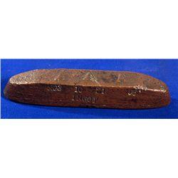 """1895 - Copper Ingot """"AAA"""""""