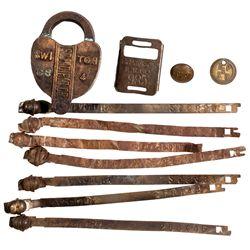 c1910 - Southwestern Railroad Items