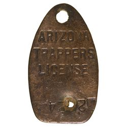 AZ - Trapper's License