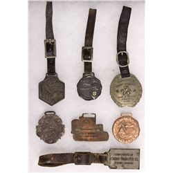 AZ - 1907, 1926 - Watch and Fob Collection